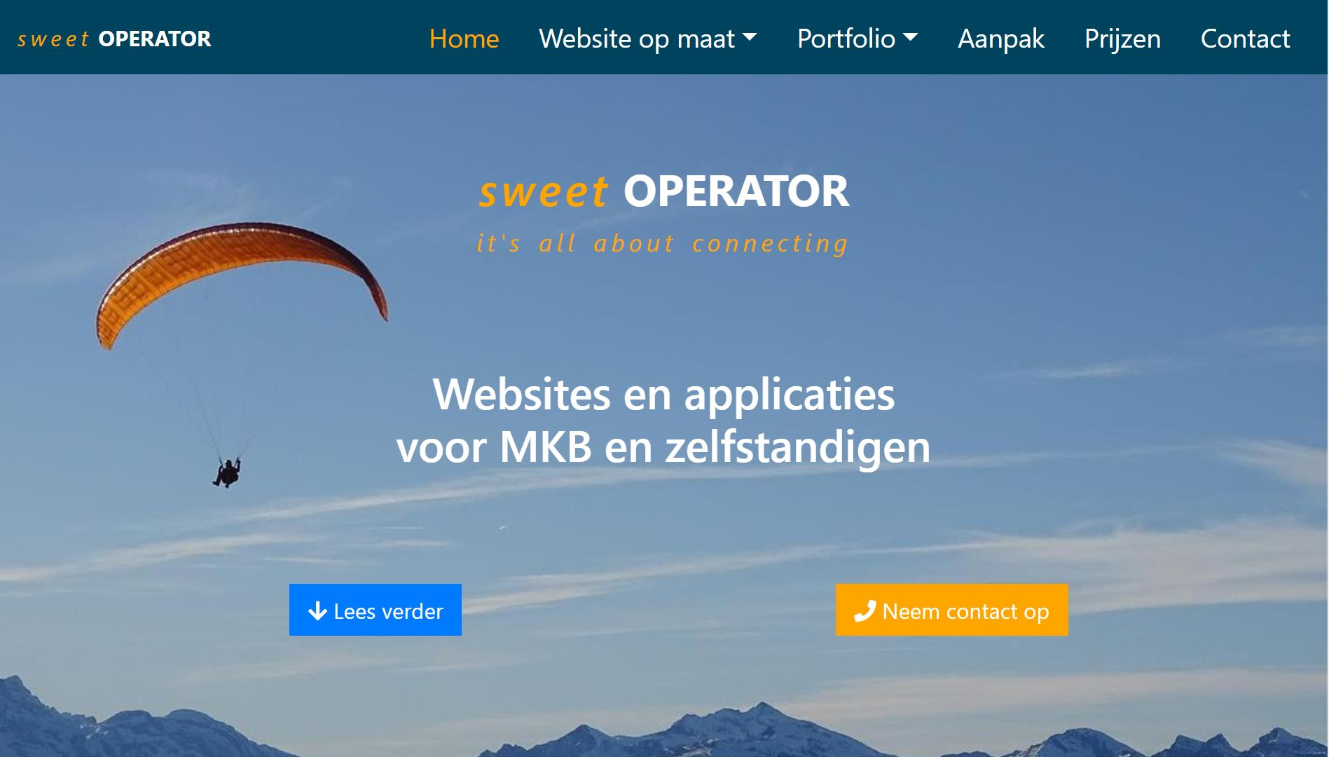 Websites and applicaties voor MKB en zelfstandigen